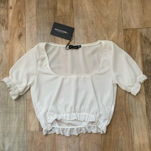 PrettyLittleThing White Top